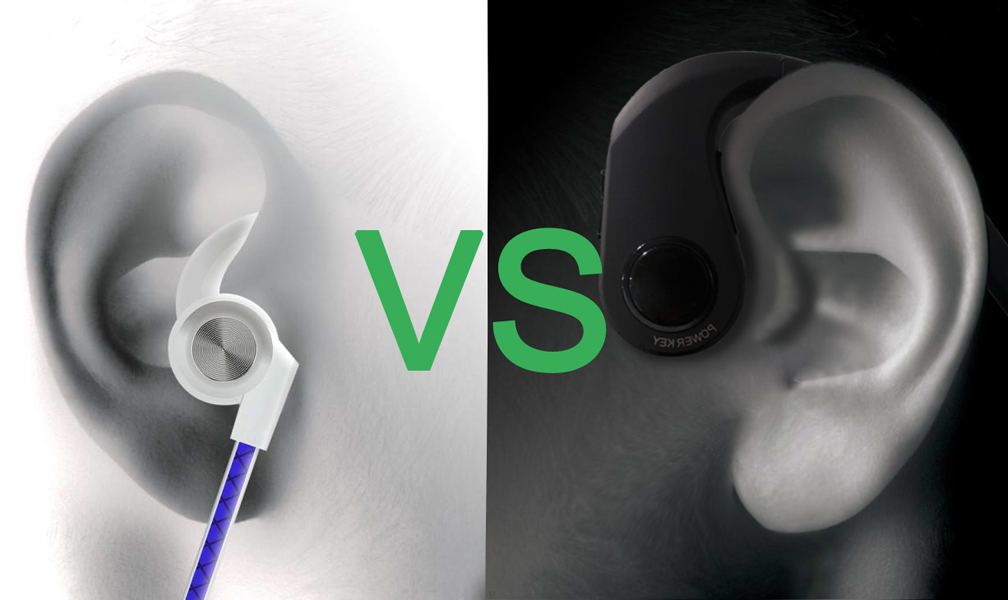 Bone conduction headphones vs normal