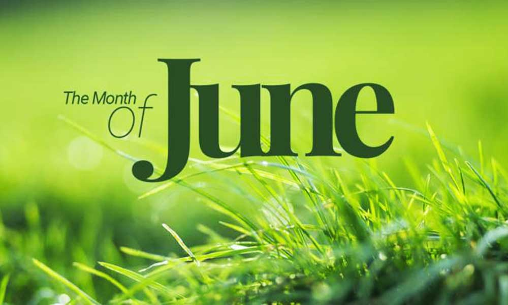 The month of June